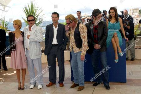 Jessica Alba, Mickey Rourke, Clive Owen, Michael Madsen, Benicio del Toro and Brittany Murphy