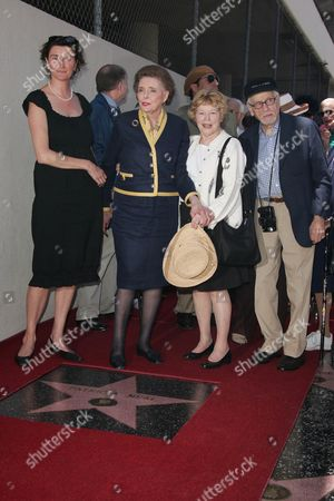 Patricia Neal, Daughter Lucy Dahl , Anne Jackson and Eli Wallach