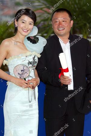 Yuanyuan Gao and Xiaoshuai Wang, Winner of Jury Prize for film 'Shanghai Dreams'