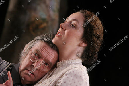 'The Home Place' at the Comedy Theatre - Tom Courtenay and Derbhle Crotty - May 2005