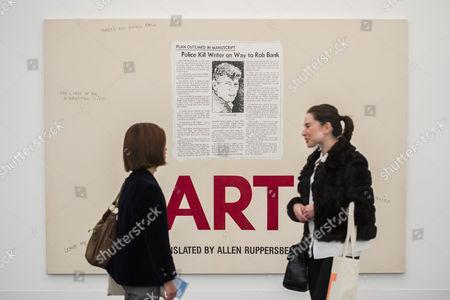 Stock Image of Art by Allen Ruppersberg