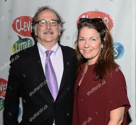 Editorial image of 'Clever Little Lies' play opening night, The Westside Theater, New York, America - 12 Oct 2015