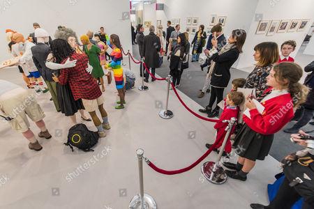 Editorial image of Frieze Art Fair, Regents Park, London, Britain - 13 Oct 2015