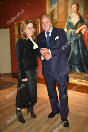 Duchess and The Duke of Marlborough, next to painting of The Duchess of Marlborough