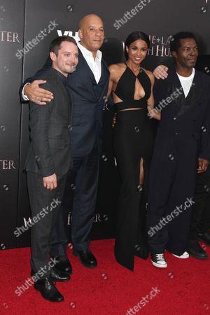 Elijah Wood, Vin Diesel, Ciara and Isaach de Bankole