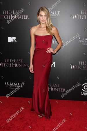 Editorial photo of 'The Last Witch Hunter' film premiere, New York, America - 13 Oct 2015