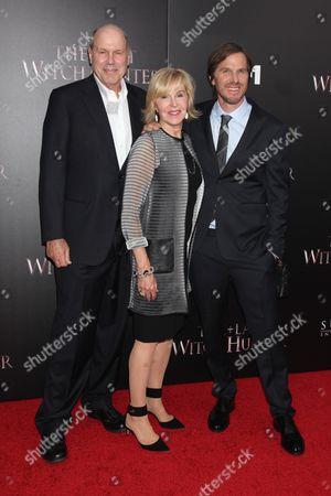 Stock Picture of Michael Eisner, Jane Eisner and Breck Eisner (Director)