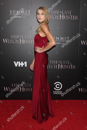 Editorial image of 'The Last Witch Hunter' film premiere, New York, America - 13 Oct 2015