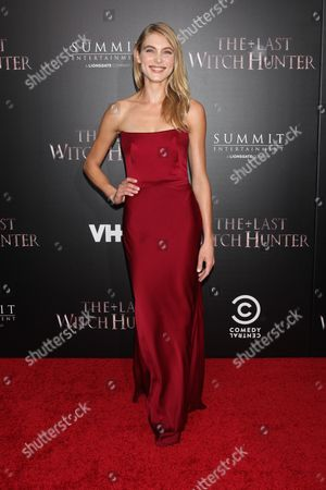 Editorial picture of 'The Last Witch Hunter' film premiere, New York, America - 13 Oct 2015
