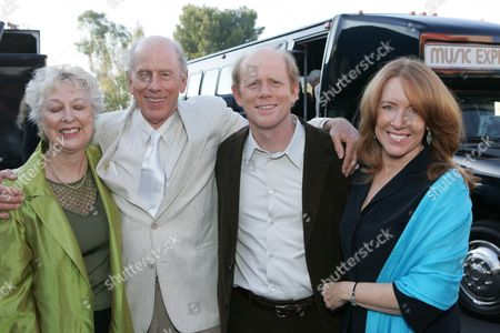 Judy O Sullivan, Rance Howard, Ron Howard & Cheryl Howard