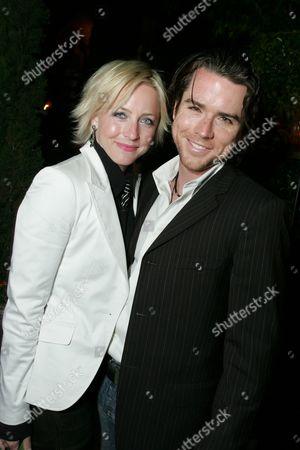 Erin Matthews and Christian Campbell