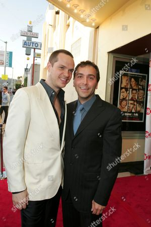 Peter Paige and Scott Lowell
