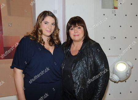 Charlotte Gaccio and Michele Bernier