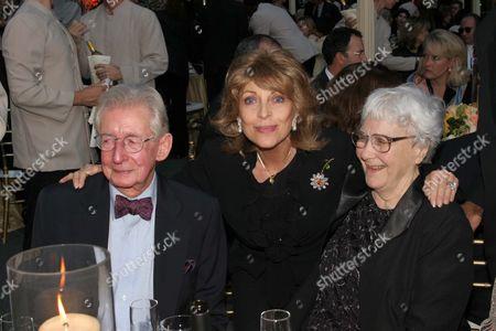 Robert Mulligan, Veronique Peck and Harper Lee, author of 'To Kill A Mockingbird'