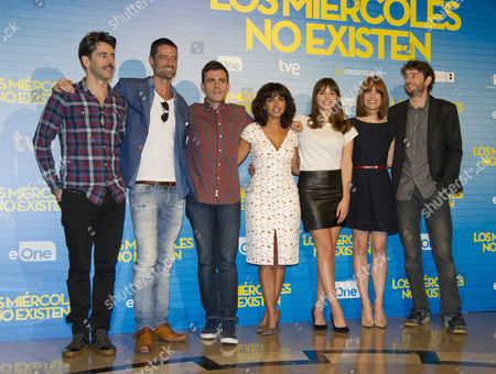 Editorial picture of 'Los Miercoles no existen' photocall, Palafox Cinema, Madrid, Spain - 14 Oct 2015