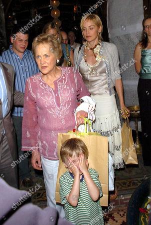 Dorothy Stone and Sharon Stone