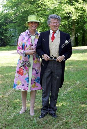 Wendelin von Boch - Galhau and wife Brigitte