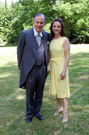 Stock Picture of Dixon Boardman with wife Princess Arriane, Arriana of Hohenlohe