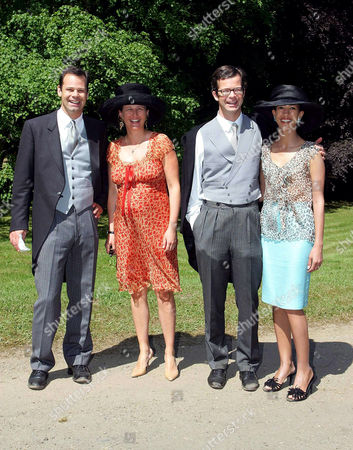 Prince Constantin with Princess Marie, Prince Maximilian and wife