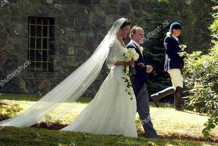 Editorial picture of WEDDING OF VANESSA VON BISMARCK TO MAXIMILIAN WEINER, FRIEDRICHSRUH, GERMANY - 28 MAY 2005