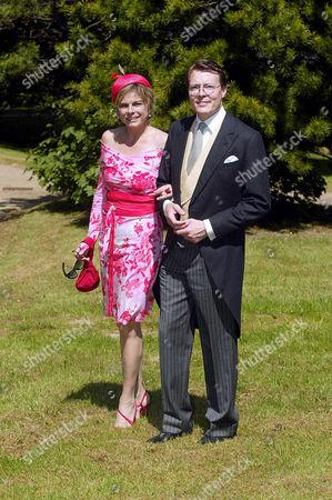 Editorial photo of WEDDING OF VANESSA VON BISMARCK TO MAXIMILIAN WEINER, FRIEDRICHSRUH, GERMANY - 28 MAY 2005