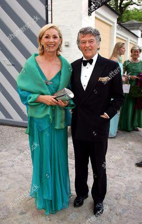 Wendelin von Boch - Galhau with wife Brigitte