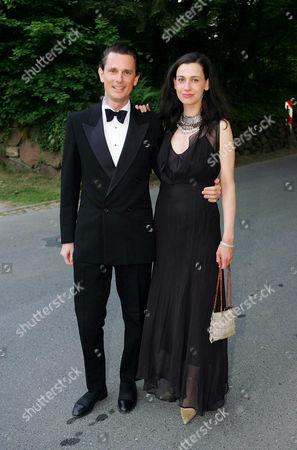 Oliver von Boch - Galhau with wife Dina