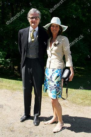 Ferdinand von Habsburg with Countess Tita von Hardenberg
