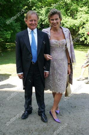 Christian von Pfuel with wife Stephanie