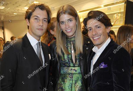 Stock Image of Ricardo Figueiredo, Veronika Heilbrunner and Edgardo Osori