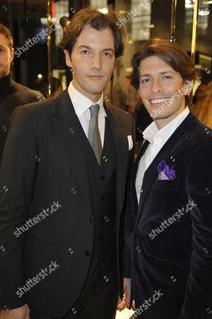 Stock Photo of Ricardo Figueiredo and Edgardo Osorio