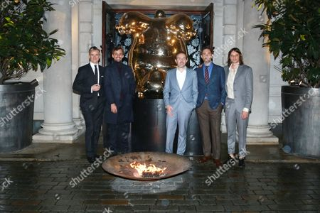 Editorial image of Opening Reception for Frieze London in the Mirror Room at the Rosewood London in partnership with UTA & Artsy, London, Britain - 14 Oct 2015