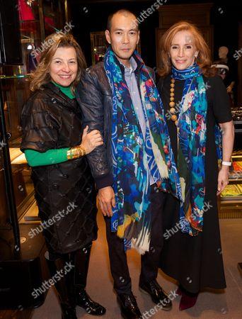 Francesca Pini, Zheng Guogu and Dominique Levy
