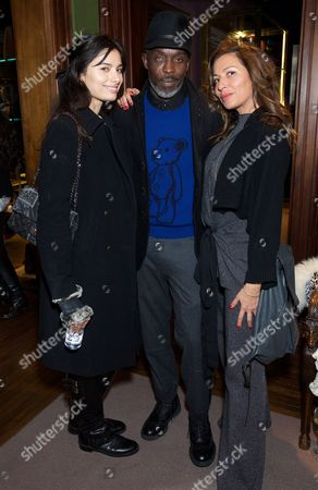 Gabriella Wright, Michael Kenneth Williams and Goli Samii