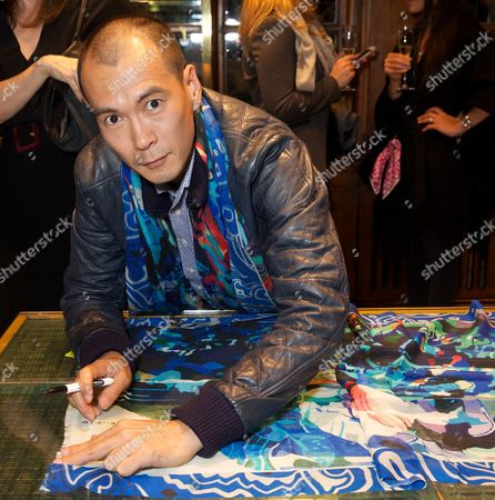Editorial picture of Etro Frieze cocktail event, London, Britain - 14 Oct 2015