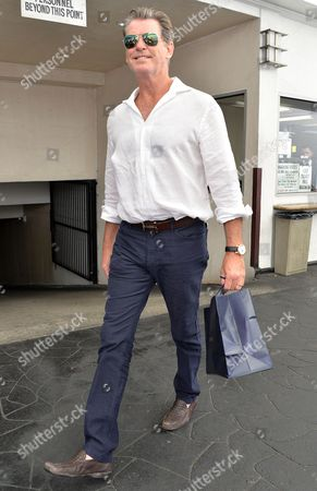 Editorial picture of Pierce Brosnan out and about in Beverly Hills, Los Angeles, America - 14 Oct 2015