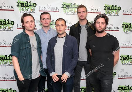 Editorial image of The Maccabees visits Radio 104.5, Bala Cynwyd, Pennsylvania, America - 14 Oct 2015