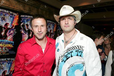 David Arquette and Robert Rodriguez