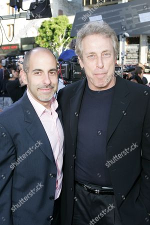 Stock Picture of Writer David Goyer and Producer Charles Roven