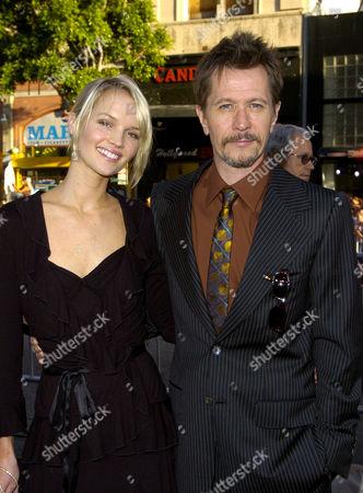 Ailsa Marshall with Gary Oldman