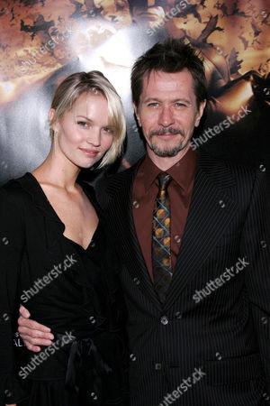 Ailsa Marshall and Gary Oldman