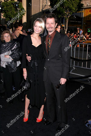 Stock Picture of Ailsa Marshall and Gary Oldman