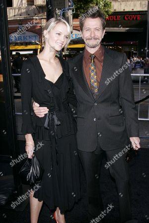 Stock Image of Ailsa Marshall and Gary Oldman