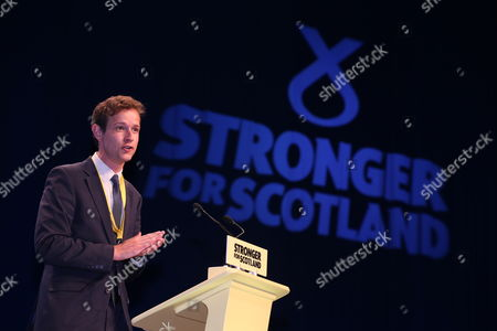 Stock Photo of SNP National Conference - Callum McCaig MP (Aberdeen South)