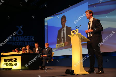 Editorial image of SNP National Conference, Aberdeen Exhibition and Conference Centre, Scotland, Britain - 15 Oct 2015