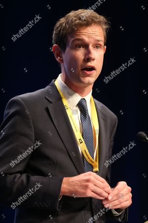 Stock Image of SNP National Conference - Callum McCaig MP (Aberdeen South)
