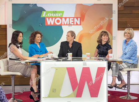 Editorial image of 'Loose Women' TV Programme, London, Britain - 15 Oct 2015
