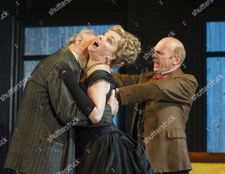 Stock Photo of Peter Egan as Matvyei,  Emma Amos as Marfusha, Des McAleer as Mikhail,