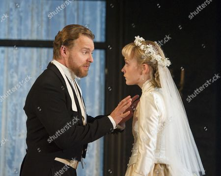 Samuel West as Nikolai Ivanov, Olivia Vinall as Sasha