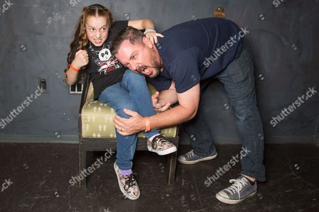 Saffron Herndon and her father